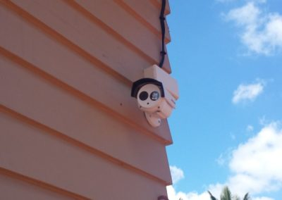 Fitted CCTV Camera Outside