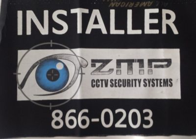 ZMP CCTV Security Installer Metro Manila